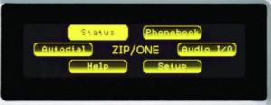 Z/IP ONE Main Menu