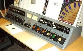 A Gates Dualux 9 channel dual mono console