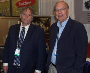 Jim Johnson with Kurt Gorman