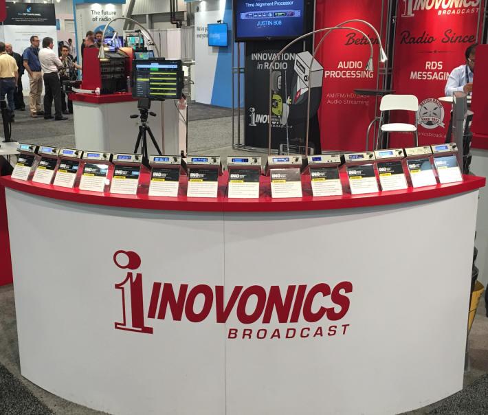 Inovonics Broadcast Booth