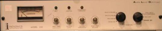 Inovonics Model 220 – Audio Level Optimizer