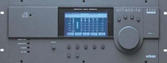 The Orban 8200 FM Digital Processor