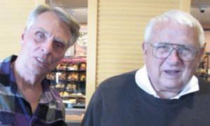 Marlin Taylor and Bob Carpenter reminiscing in 2011